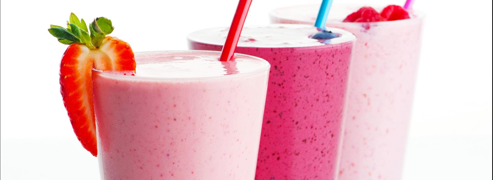 Jus & milk shake
